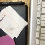 orçamento do seu site e cartões de visita